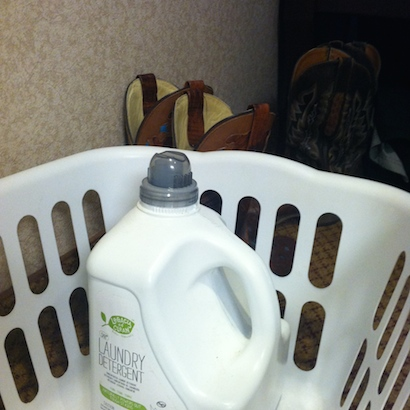 Keeping up with laundry while on the road
