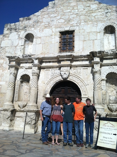 School trip to the Alamo